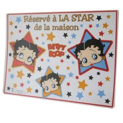 Set de table Betty Boop Star