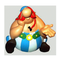 Figurine thinker - Asterix Obelix