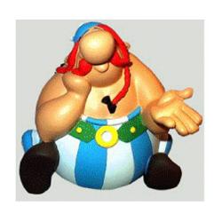 Pensador de la estatuilla - Asterix Obelix