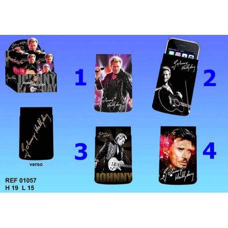 Housse portable Johnny Hallyday - Numéro de Modèle : Modèle n°3