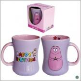 "Mug relief Barbapapa ""Happy Birthday"""