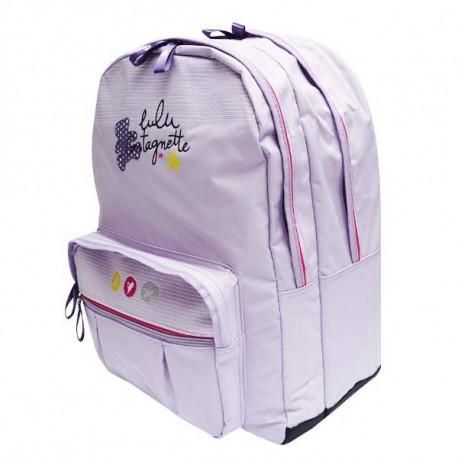 Lulu Castagnette light purple 45 CM backpack