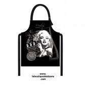 Schürze Wachstuch Marilyn Kino