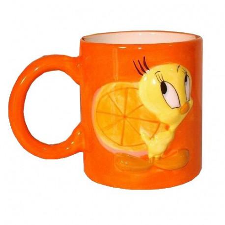 Mug Tweety Orange