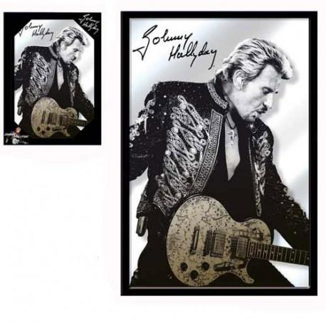 Miroir Johnny Hallyday Guitare