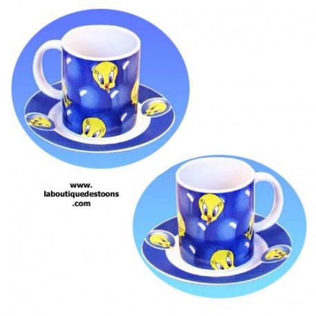 Mug Titi bleu set de 2