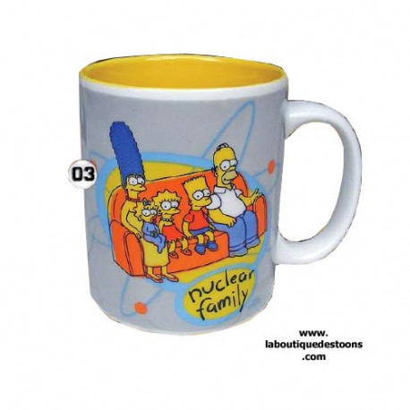 Mug Simpsons Family