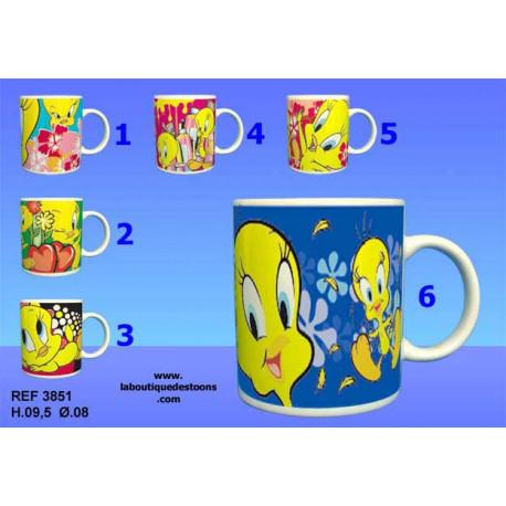 Mug Titi - Numéro de Modèle : Modèle n°5