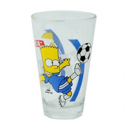 Verre Bart Simpson Foot