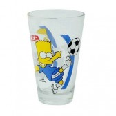 Verre Bart Simpson Foot