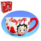 Jumbo Betty Boop Coeur blanc