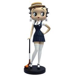 Statue-Betty Boop-Hockey