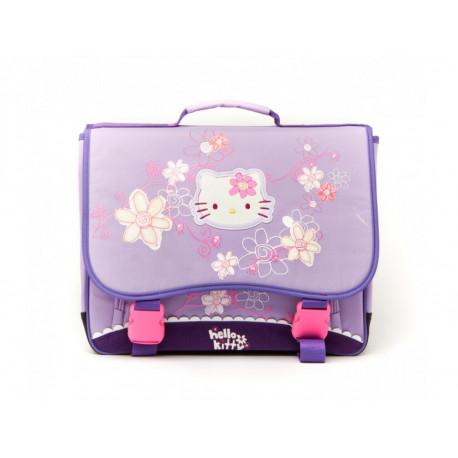 Cartable Hello Kitty maternelle Violet Haut de Gamme 36 CM