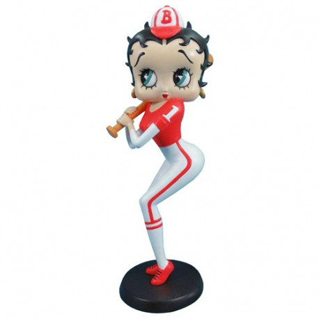 Statuette Betty Boop Baseball