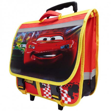 Backpack on wheels Cars Disney black 39 CM high end