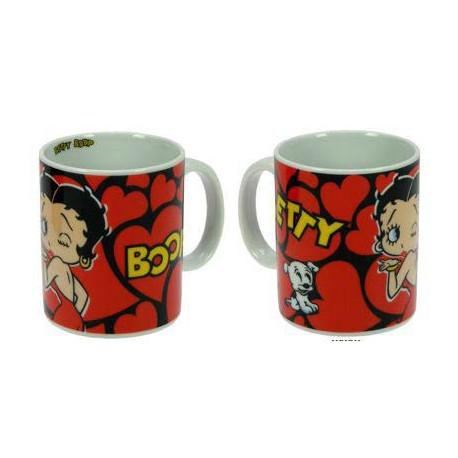 Mug Betty Boop Coeur