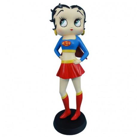 Statuette Betty Boop Superwoman
