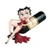 Statuette Betty Boop Star de vin