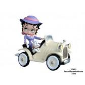 Statuette Betty Boop voiture