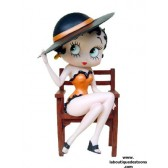 Statuette Betty Boop chaise