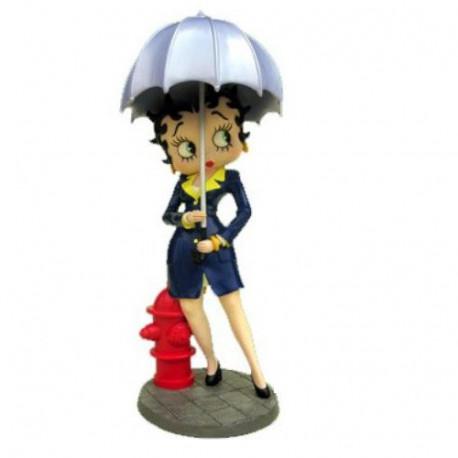 Statuette Betty Boop Sous la pluie