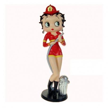 Statuette Betty Boop Pompier