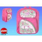 Sac à dos Hello Kitty Coeur type cartable maternelle