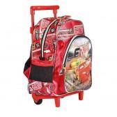 Sac à roulettes trolley maternelle Cars Racers 30 CM