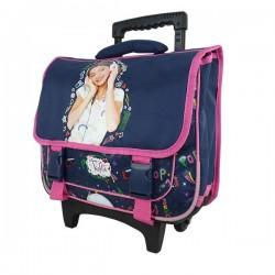 Rolling School Bag Violetta Pop Music 39 CM