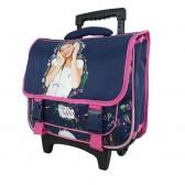 Cartable à roulettes Violetta Pop Music 39 CM Haut de gamme