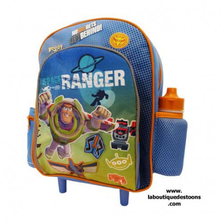 Sac à roulettes trolley Toy story maternelle 30 CM