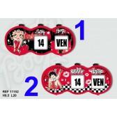 Date clock Betty Boop