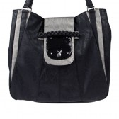 Frau Playboy Sequin große Handtasche
