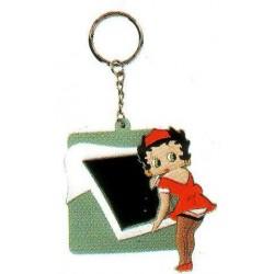 Betty Boop 2D Foto Schlüsselanhänger