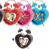 Alarm clock Betty Boop Star - color: Red