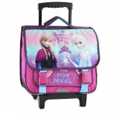 Cartable à roulettes Frozen La reine des neiges 38 CM Forever