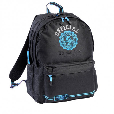 US Marshall black & blue 45 CM high quality backpack