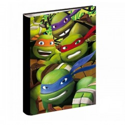 Workbook A4 turtle Ninja 34 CM