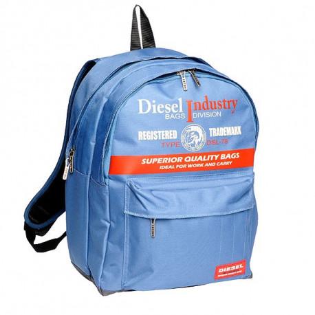 Mochila escolar Diesel azul 45 CM Premium