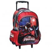 Spiderman Ultimate 43 CM de alto - bolso bolso de escuela de la carretilla