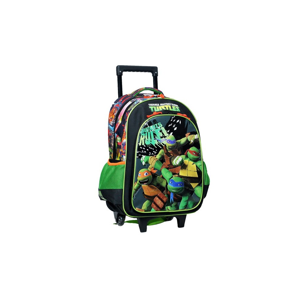 produit indisponible cartable roulettes tortue ninja 43 cm mutant trolley - Cartable Tortue Ninja