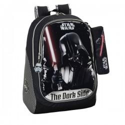 Sac à dos Star Wars Dark Vador 44 CM Haut de Gamme + Trousse
