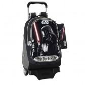 Sac à roulettes Star Wars Dark Vador 44 CM Haut de Gamme Trolley + Trousse - Cartable