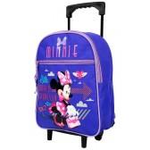 Sac à roulettes maternelle Little Minnie 31 CM - Cartable