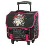 Cartable à roulettes Monster High FUN 38 CM Haut de gamme