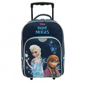 Sac à roulettes Frozen La reine des neiges Snow 40 CM Trolley - Cartable
