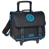 Rolling Backpack US Marshall Black and Blue