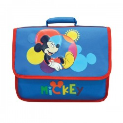 Cartable Mickey maternelle 32 CM bleu
