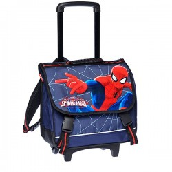 Bookbag skateboard Spiderman Ultimate Trolley 38 CM high