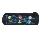 Trousse Angry Birds 22 CM Noire GO